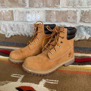 Timberland Women's 6 Inch Wheat Waterproof Boots